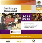 Catálogo Nacional 2011-2012