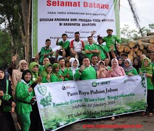 Sobat, Mari Kampanyekan Penanaman Pohon