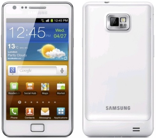 samsung galaxy S II White I9100