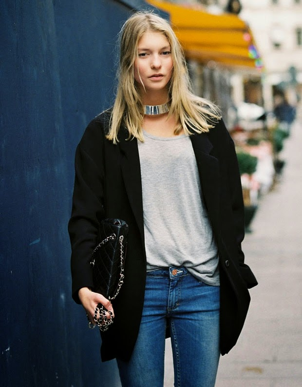 street fashion choker