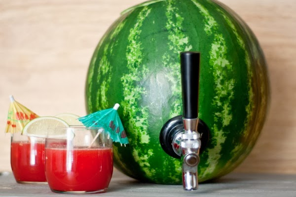 DIY Watermelon Punch with Fun - The Idea King