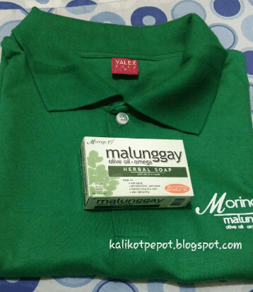 Moringa O2 Soap and T-shirt