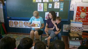 ¡¡Gracias abuela Linda por compartir con nosotr@s estos días de lectura...