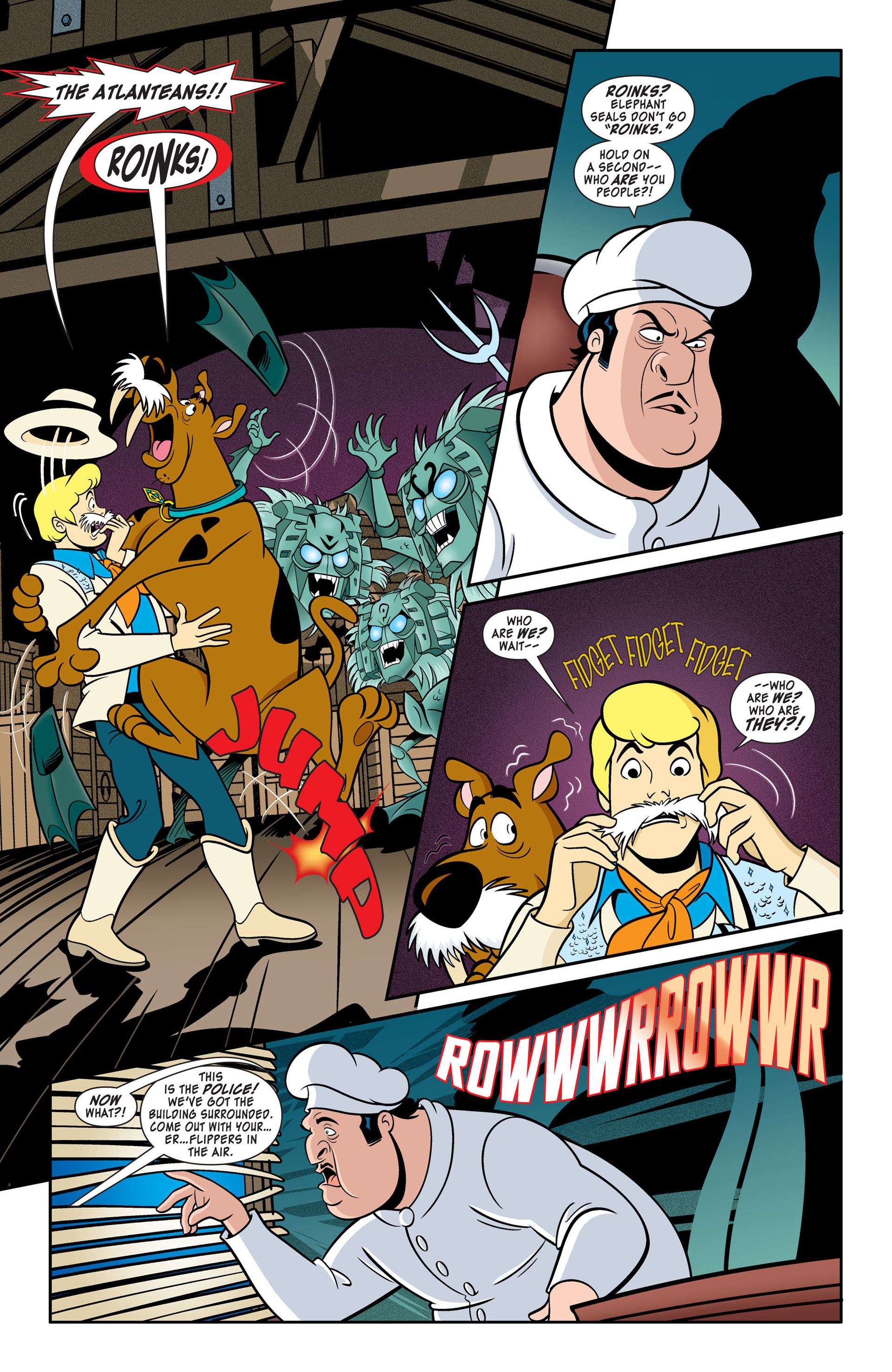 Read online Scooby-Doo: Where Are You? comic -  Issue #46 - 10