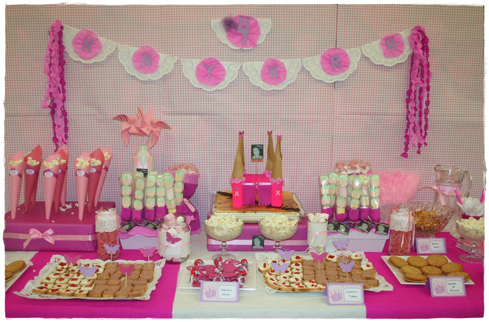 Cumplea os de princesas merbo events for Decoracion cumpleanos nina 2 anos