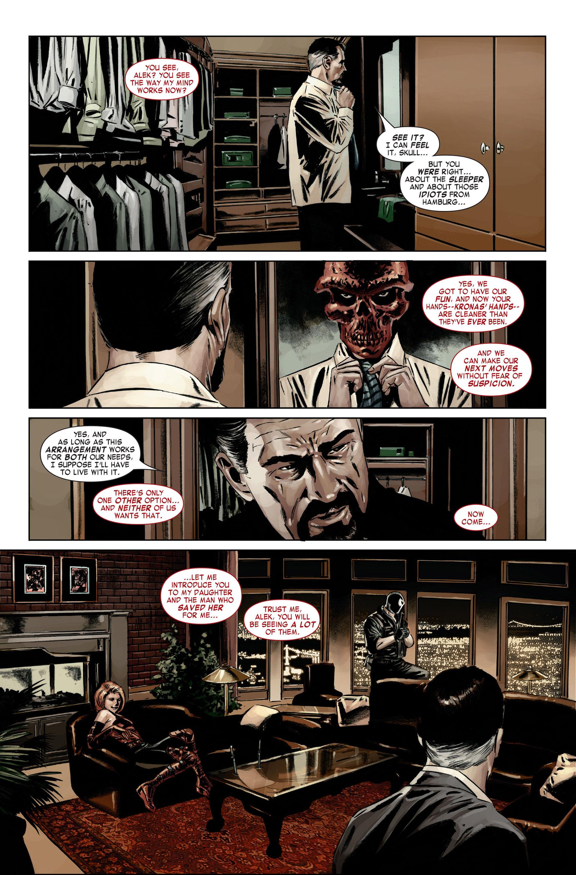 Captain America (2005) Issue #21 #21 - English 22