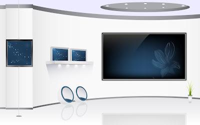 Elegant Blue Home Theater Furniture And Interior Arts Design