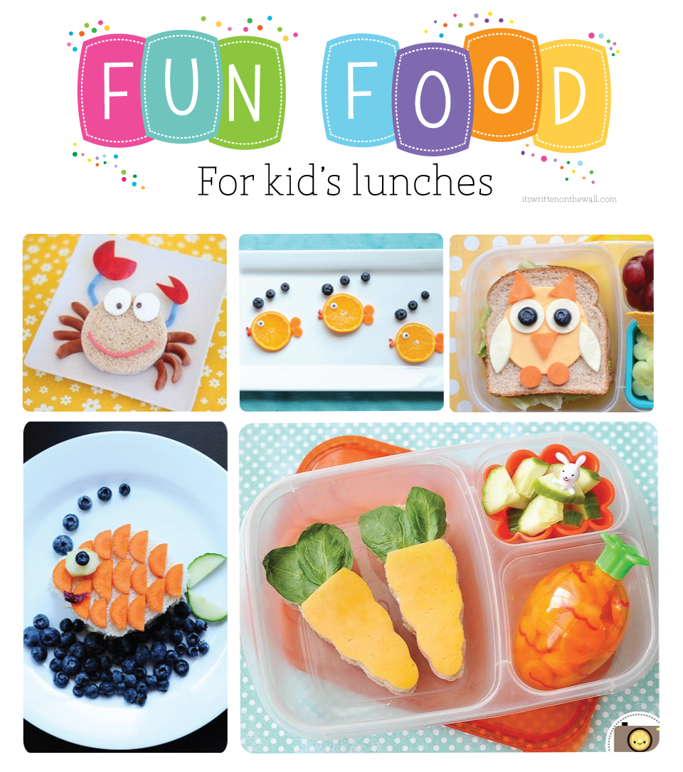 So many Fun Ideas For Kids Lunches!
