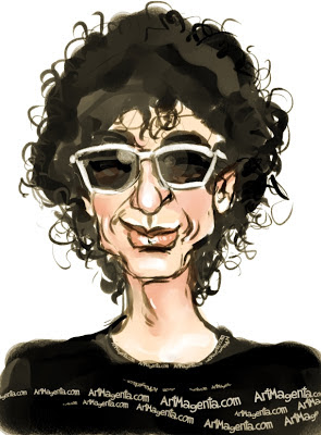 Magnus Uggla är en karikatyr av Artmagenta