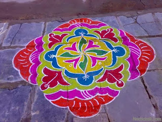 muggulu simple design for sankranti