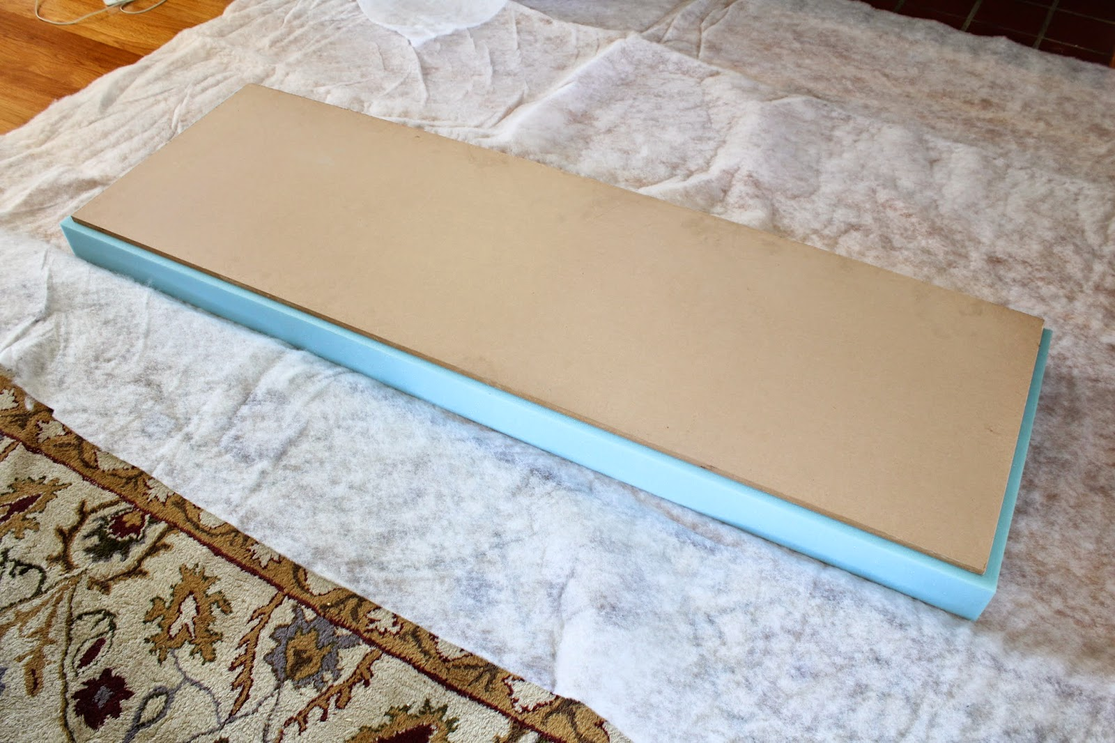 no sew bench cushion