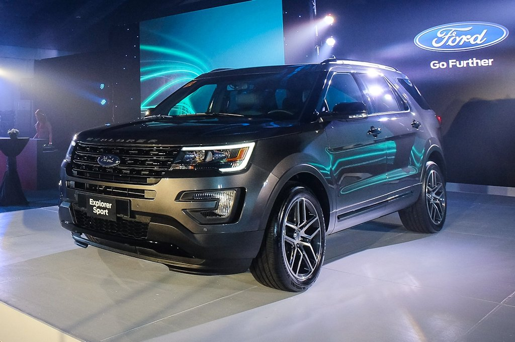 Ford Philippines Unveils New Look, Tech for Explorer Sport ...