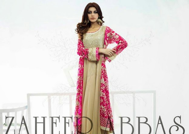 Zaheer Abbas Eid Collection 2014 wwwfashionhuntworldblogspot 12  - Zaheer Abbas Eid Collection 2014 For Women