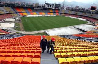Selección Argentina causó daños en el Atanasio