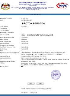 proton persada