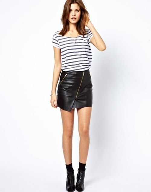 10 leather skirt look leather skirt is gold worth