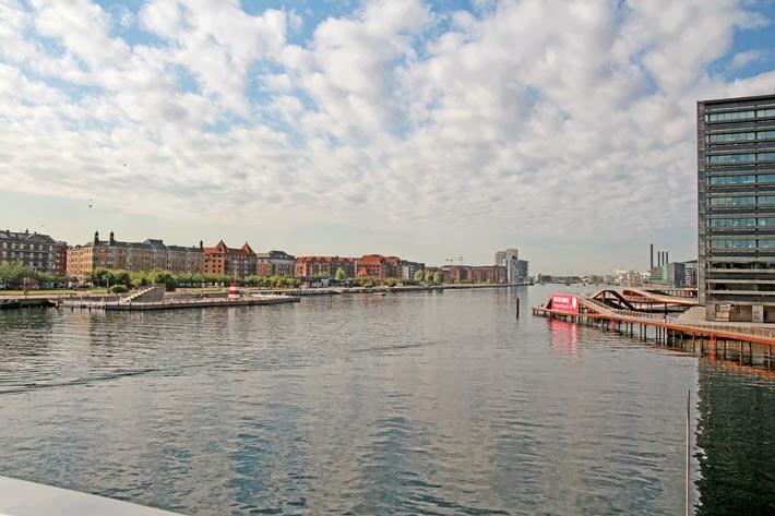 Amalie loves Denmark Hafenpromenade Kalvebod Bølge