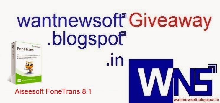 Aiseesoft FoneTrans 8.1 image