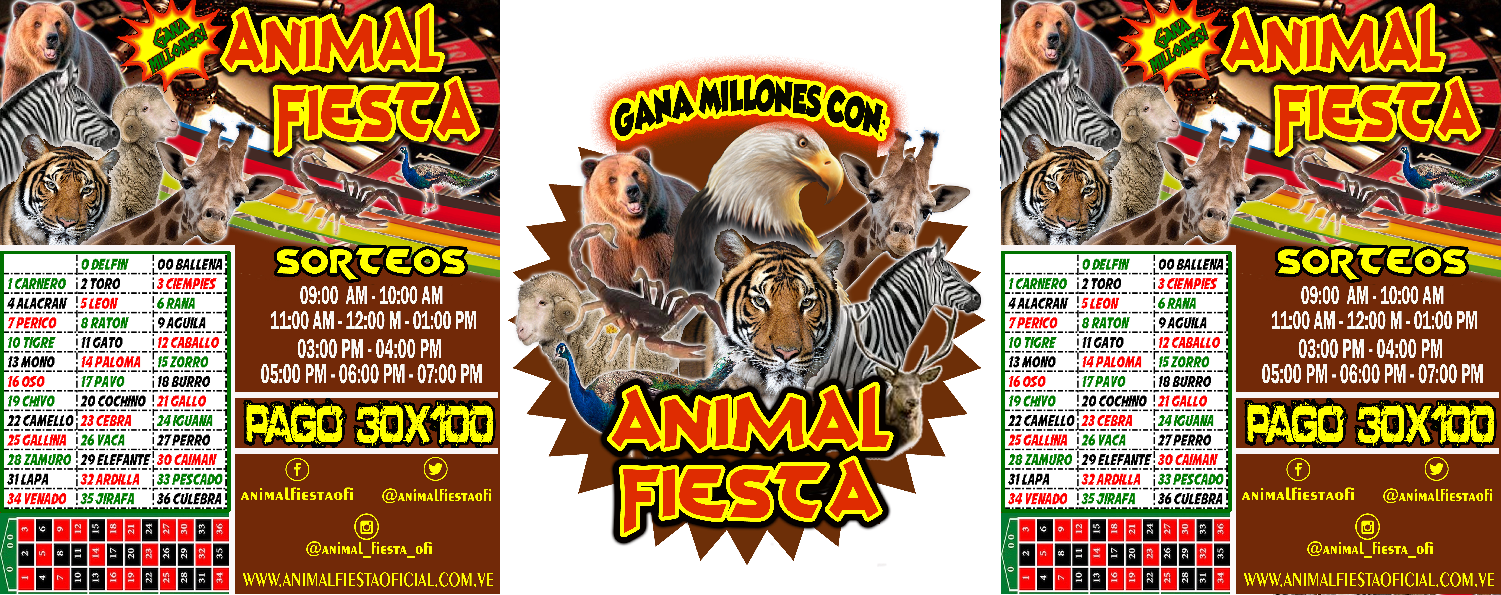DATOS DE ANIMALITOS LOTTO ACTIVO