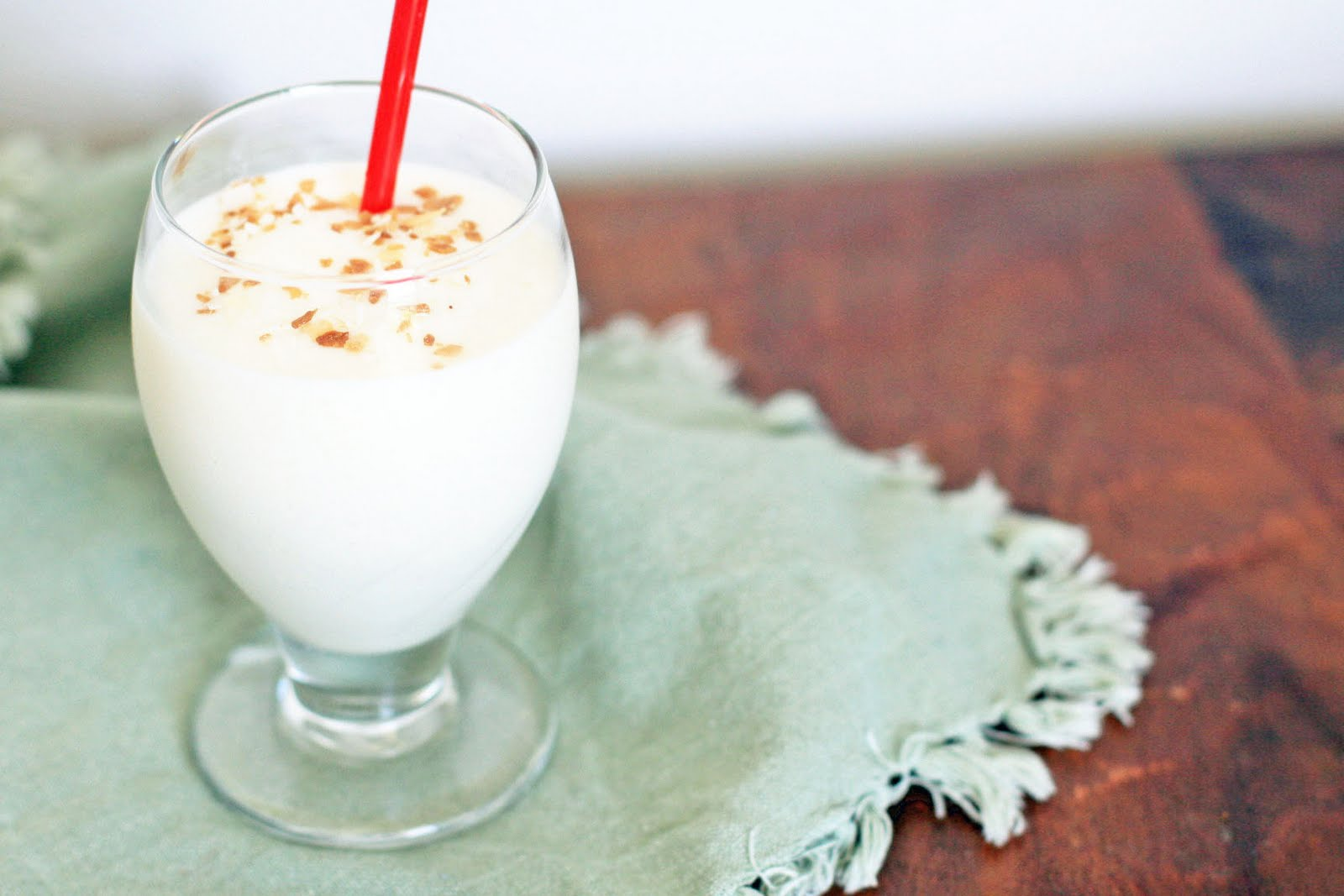 Frozen Coconut Rum Drink | Girl Cooks World