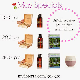 Our May Specials!