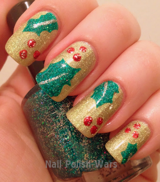 nail polish wars merry holly