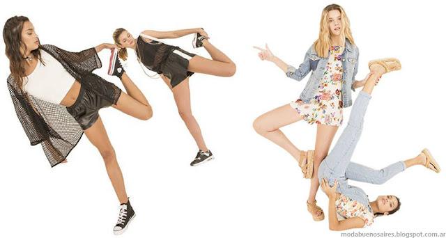 Muaa primavera verano 2016 ropa de moda juvenil.