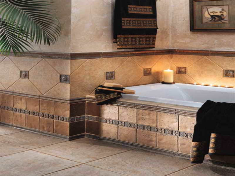 Sumptuous Bathroom Tile Gallery For Extravagant Bathroom