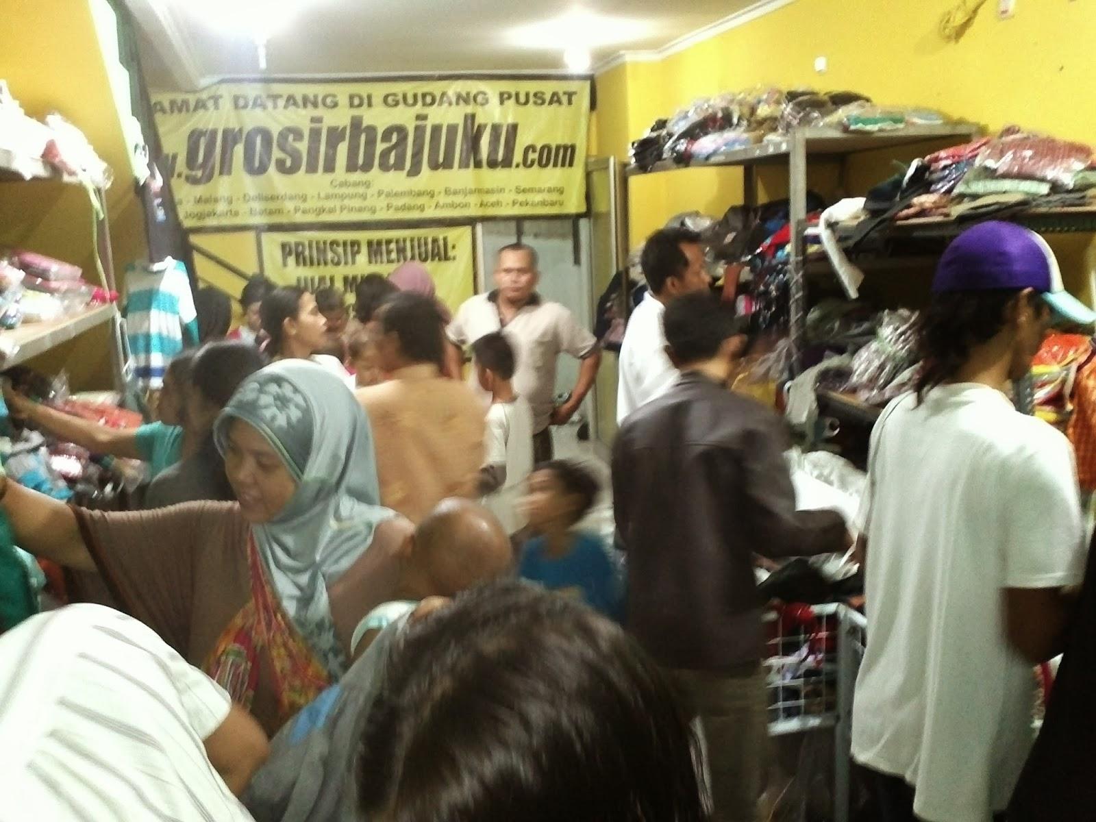 Kulakan Baju Murah di Jakarta Bekasi dan Bandung