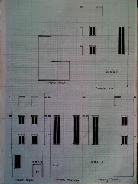 Welcome Desain Rumah Minimalis 5x7 Meter