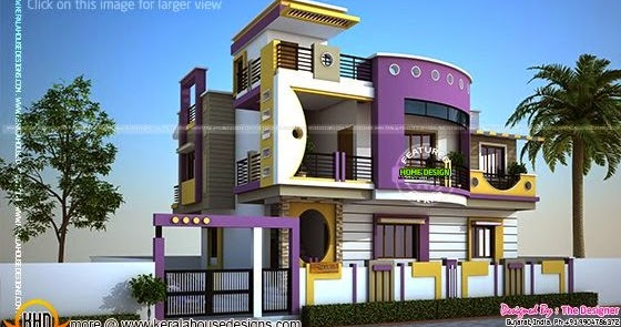 Small Contemporary Home Design Keralahousedesigns