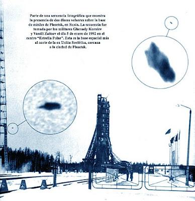 UFOs in Plasetsk