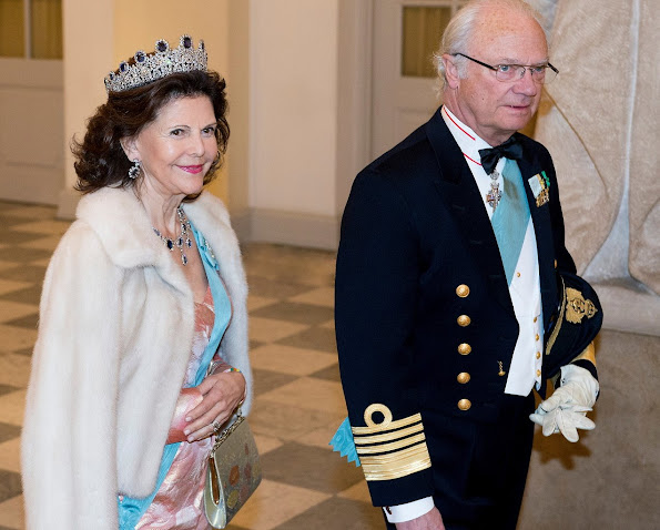 Queen Maxima and King Willem-Alexander of The Netherlands, King Philippe and Queen Mathilde of Belgium, Queen Letizia and King Felipe of Spain, Crown Prince Frederik and Crown Princess Mary of Denmark, Prince Joachim and Princess Marie of Denmark, King Carl Gustaf and Queen Silvia of Sweden