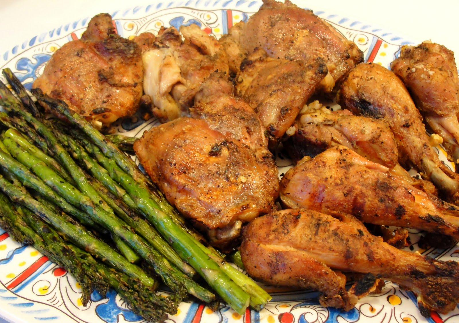 There's always thyme to cook...: Grilled Salt and Pepper Chicken
