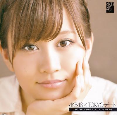 AKB48 × TOKYO 2012 Calendar Atsuko Maeda