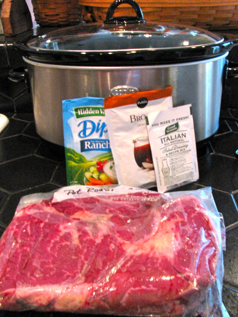 Easy crock pot recipe roast