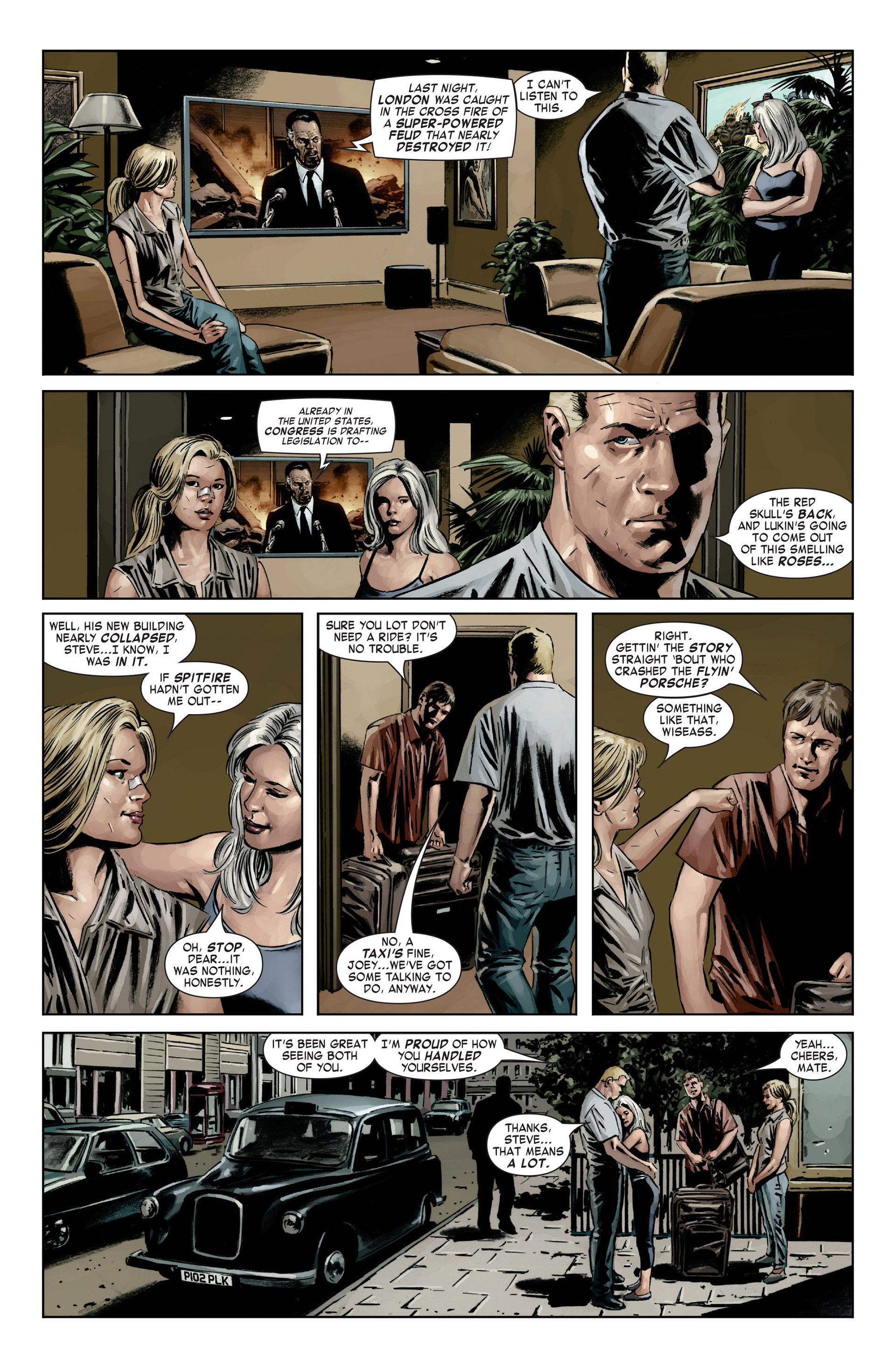 Captain America (2005) Issue #21 #21 - English 19