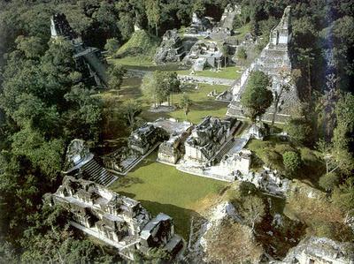 Ruinas Mayas de Tikal Petén Guatemala