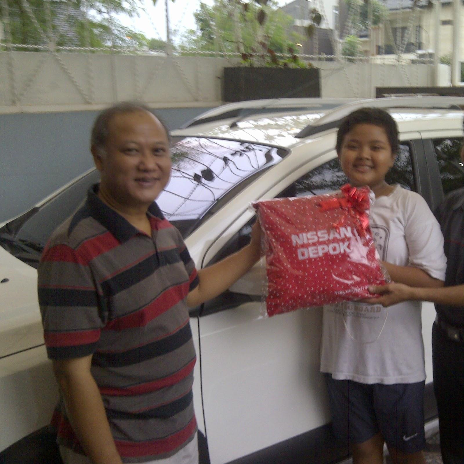 Terimakasih atas kepercayaan Pak Dody yang telah membeli Grand Livina X-Gear CVT melalui media www.touchnissan.com.  Semoga Berkah ya Pak...