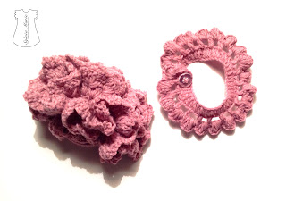 gomillas pulseras crochet hecho a mano gummi blumen armband handgemacht häkeln