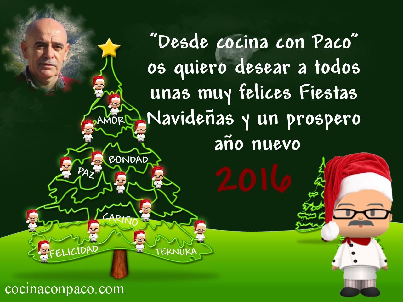 Cocina con paco feliz navidad - Cocina con paco ...