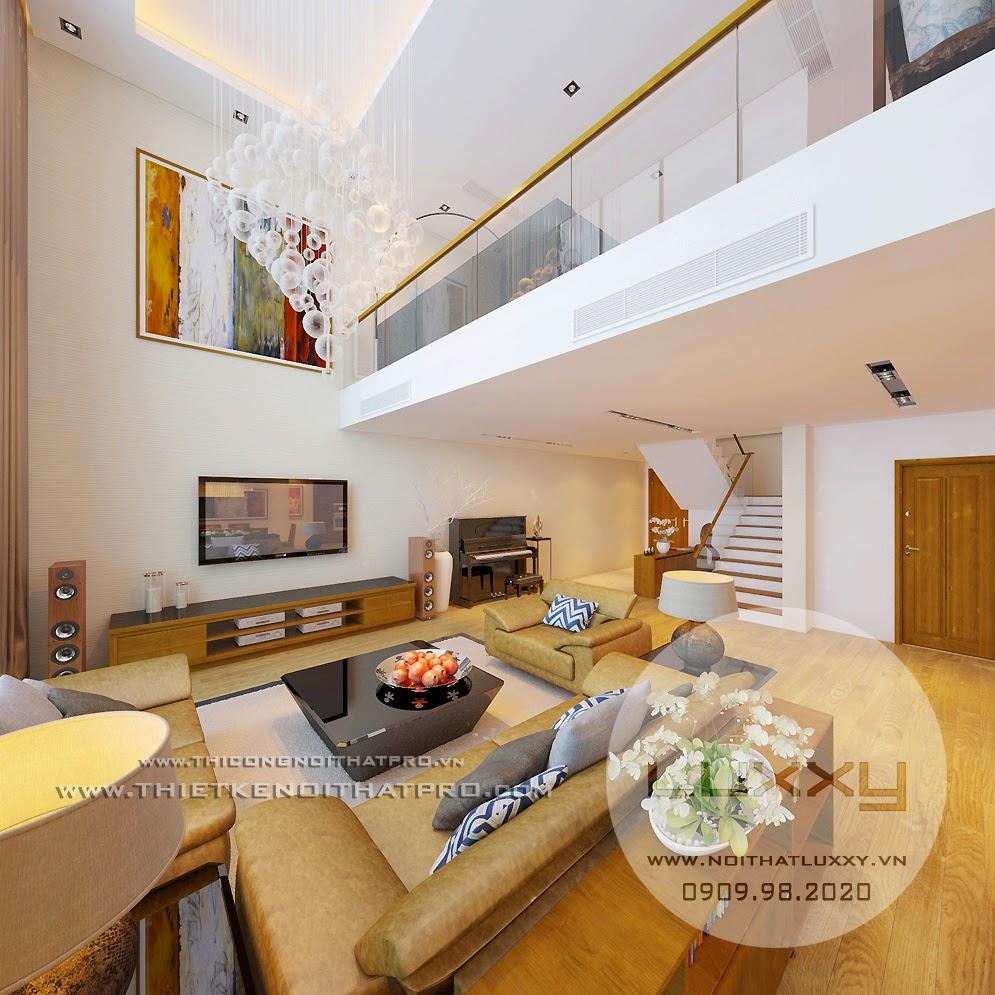 Thiết kế căn hộ biệt thự