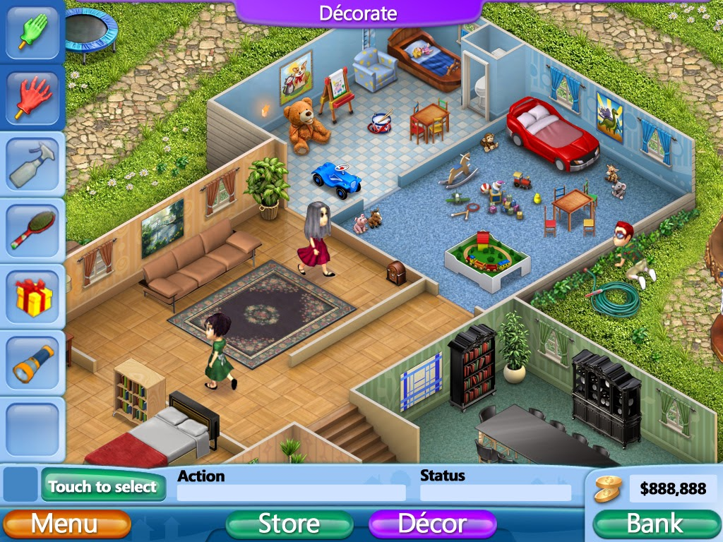 Virtual families 2 pc game faraz entertainment for Virtual families 2 decoration