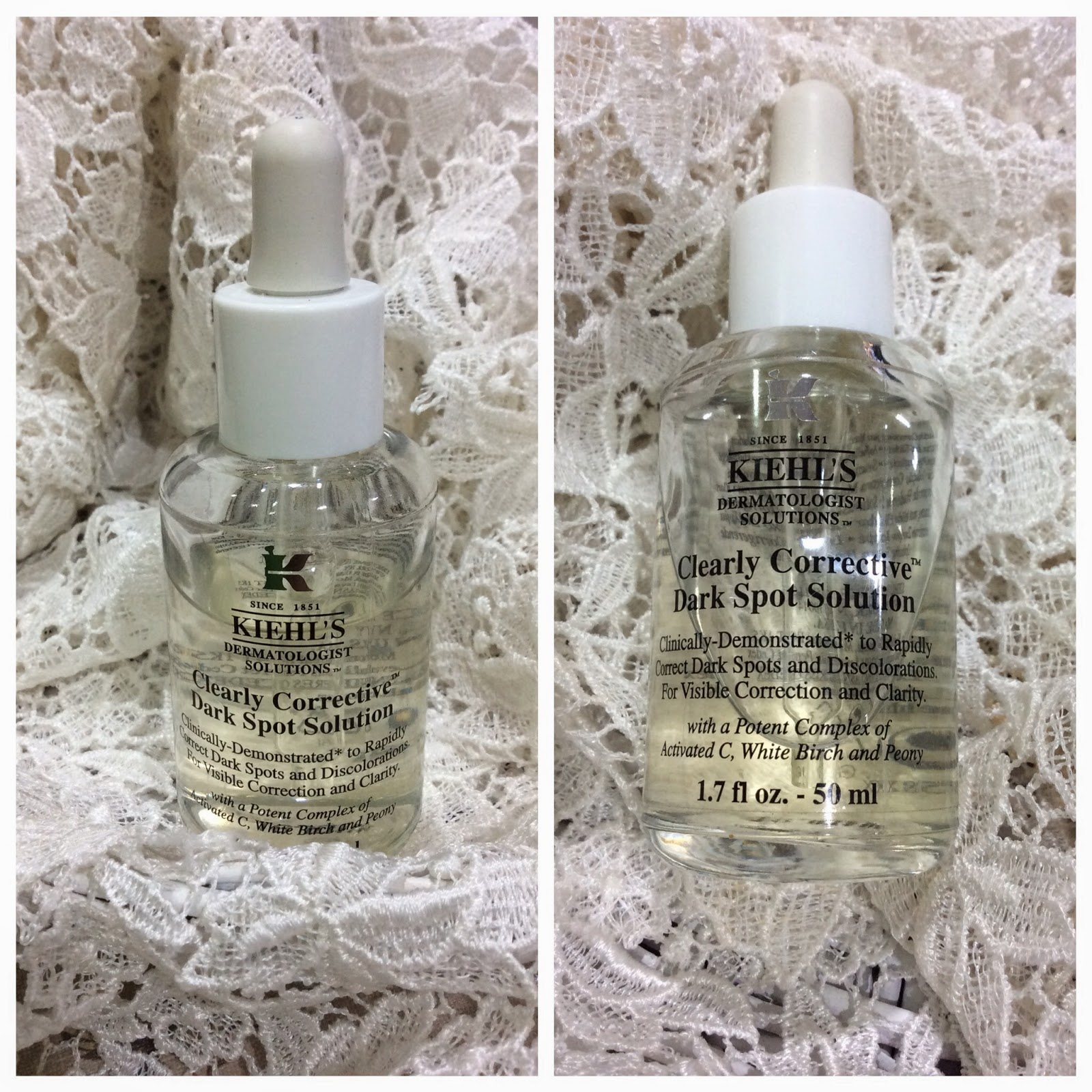 Blog Sale - Kiehls Clearly Corrective Dark Spot Solution