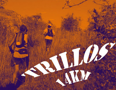 14k trail run Trillos (San José, 07/jul/2013)
