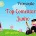 Promoção Top Comentarista Junho