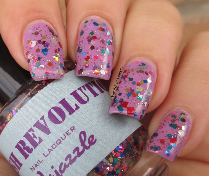 Varnished Valkyrie: Re-Swatch: Polish Revolution Vajazzle