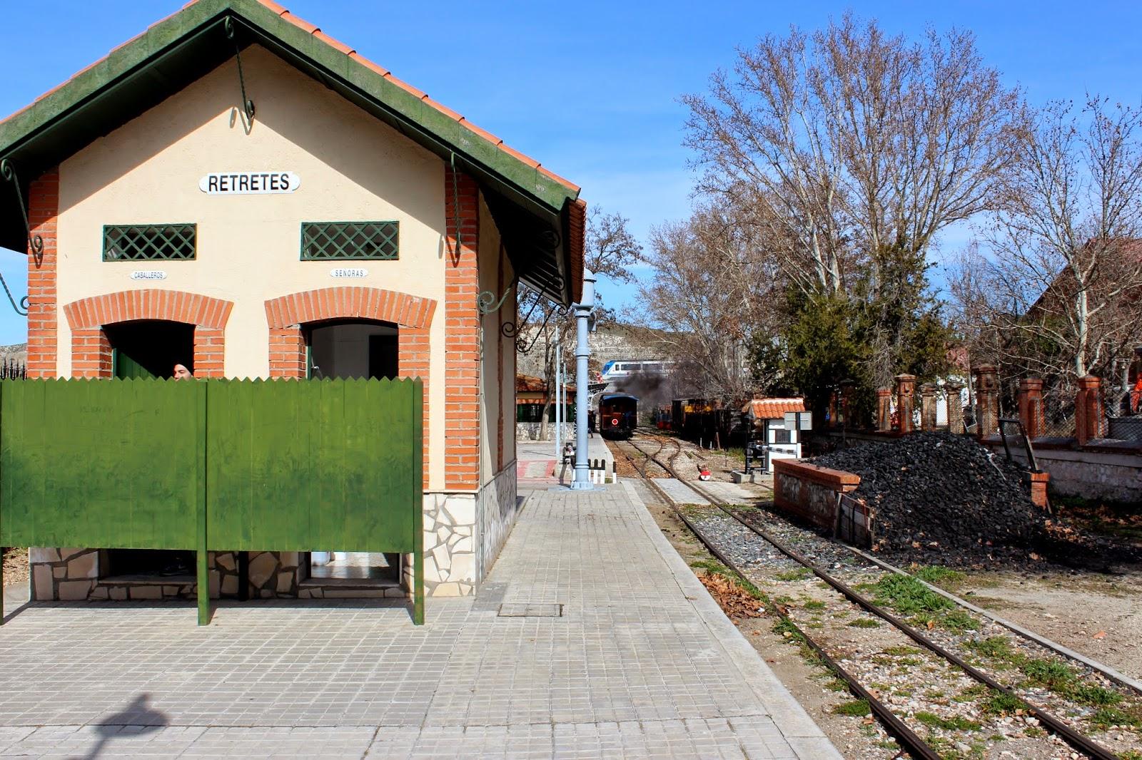 Antigua estación de la Poveda