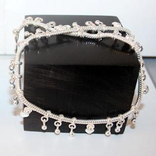 Fancy Sterling Silver Anklets