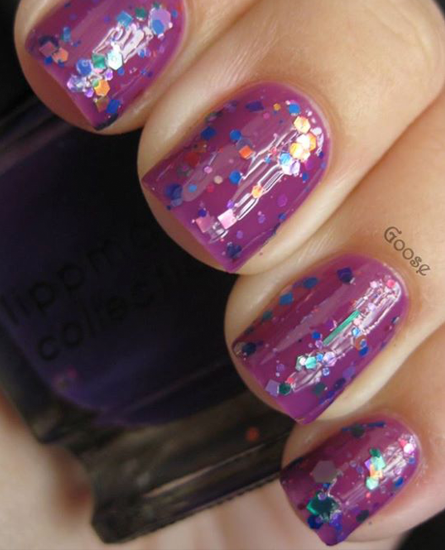 Amazing Glitter Nails